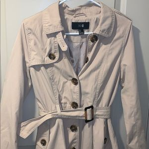 Forever 21 tan trench coat/ army jacket!